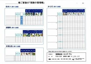 保険の管理帳